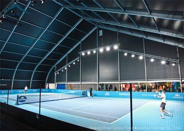 Cina PVC Curved Canopy Tent For Tennis Court Sun Poof And Water Proof Distributor