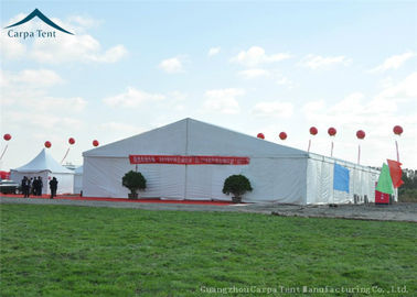 Cina Giant Commerical Exhibition Tents Western White PVC Fabric Canopy Over 500 People Distributor