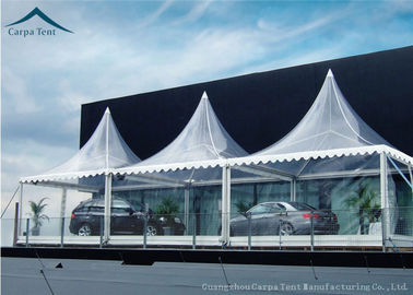 Cina White Marquee Pagoda Shape  Exhibition Event Tents For Conference Distributor