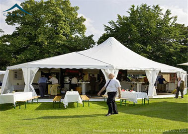 Cina White Mixed Party Marquees Tents With Aluminium Width 20m Outdoor Canopy Distributor